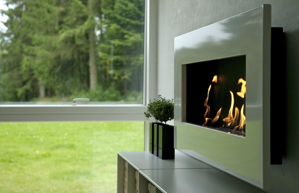 Non Ethanol Gas >> Frame Bioethanol Fireplace | Wall Mounted Fireplaces ...