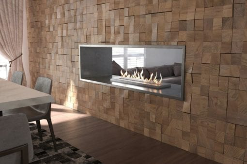 Grand XL Double sided bio ethanol fireplace