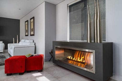 1350 Full Stainless steel firebox with 1200 vent free gas burner