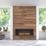 fluless gas fireplace