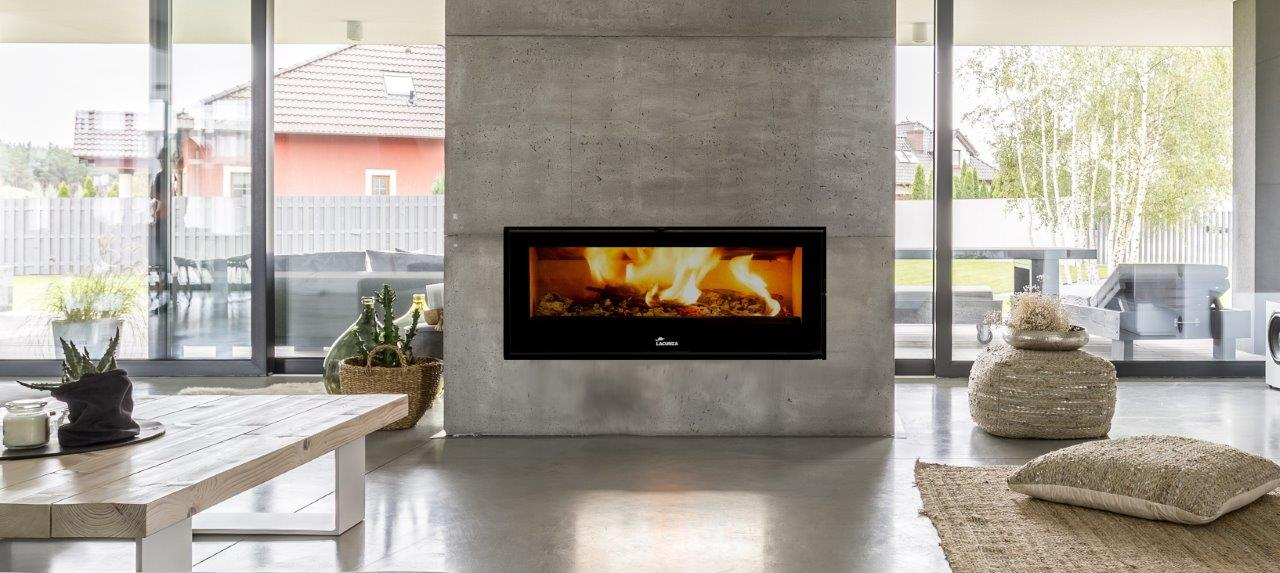 Lacunza Silver 1000 closed combustion fireplace