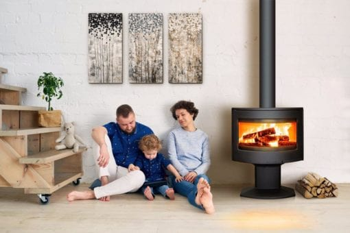 Tarbes Cast Iron Wood Stove